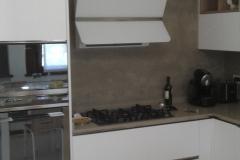 Cucina Kali con elettrodomestici SMEG